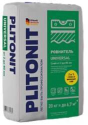 Ровнитель пола универсальный быстротвердеющий самовыравнивающийся PLITONIT Universal 20 кг