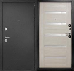 Дверь входная металлическая Рубикон Царга 2050х860 Правая,Лиственница Беленая