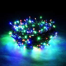 Электрогирлянда Нить 100 разноцветных LED ламп длина 10м, 220 v 55061