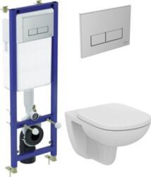 Комплект унитаз, инсталляция с кнопкой смыва Ideal Standard Tempo W990101