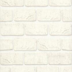 Обои 10108-11 Аспект винил 0,53*10,05м под камень белый