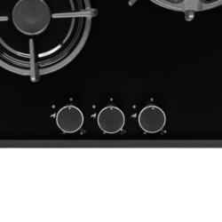 Поверхность варочная газовая FIERO 45 BL газовая KRONA независимая 00026349