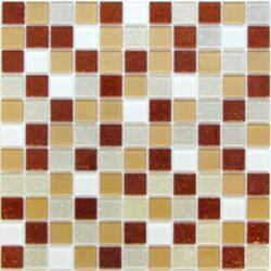 Мозайка стеклянная Happy (2,5*2,5) 30*30