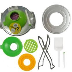 Набор для консервирования, 7 предметов в плёнке с захватом