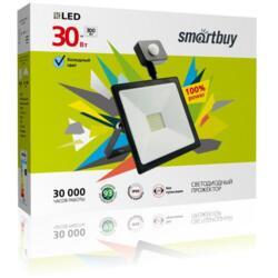Прожектор Sensor Smartbuy Led SBL-FLSen-30-65K 30Вт 6500К