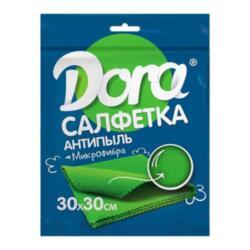 """Салфетка 30*30см """"Антипыль"""" Dora микрофибра 2001-003"""