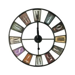 Часы настенные Metal Clock Color 80x80см 79880