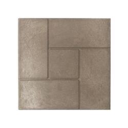 """Полимерпесчаная плитка для садовых дорожек """"Калифорния"""", 4 шт, 330*330*20 мм, цвет СЕРЫЙ"""