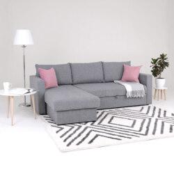Диван-Кровать Марсель угловой, серый